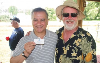 CCDemClub Picnic 2015, Kumar Barve and Don West