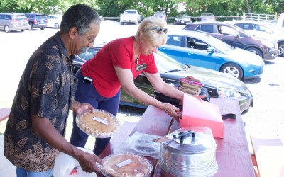 CCDemClub Picnic 2016, Charles Harrison and Corynne Courpas