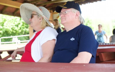 CCDemClub Picnic 2016, Joan and Frank McGrath