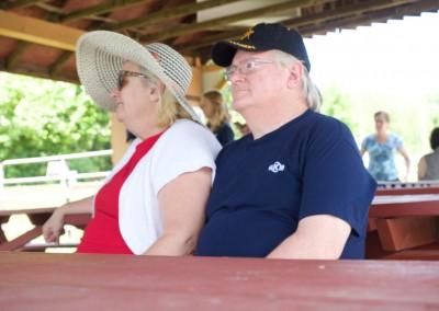 CCDemClub Picnic 2016, Joan and Frank McGrath