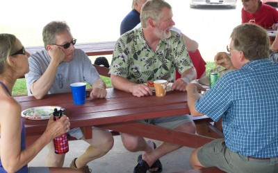 CCDemClub Picnic 2016, Greg Pecoraro and Don West