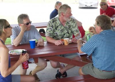 CCDemClub Picnic 2016, Greg Pecoraro and Don West