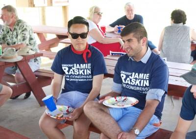 CCDemClub Picnic 2016, Raskin volunteers