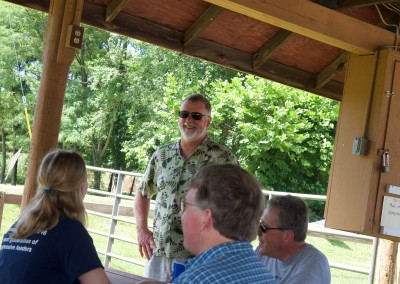 CCDemClub Picnic 2016, Greg Pecoraro and Don West and Frank Baylor