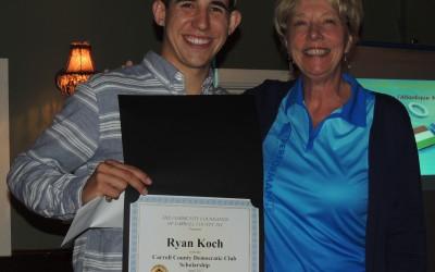 CCDemClub Scholarship 2017, Ryan and Corynne