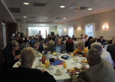CCDCC Breakfast 10/18/14 (photo by Mark Wilson)